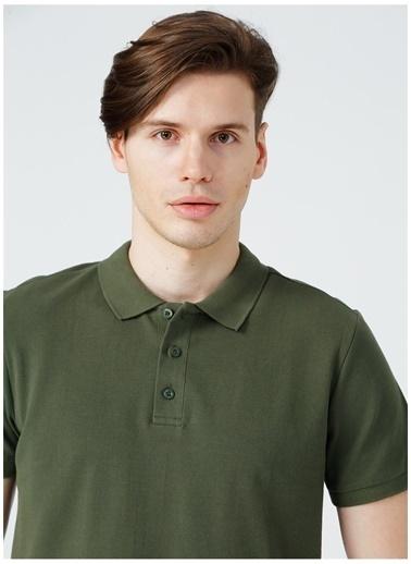 Limon Company Limon Erkek Haki Polo T-Shirt Haki